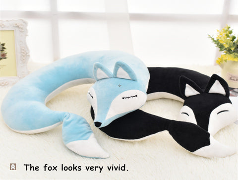 Lovely Foxy Plush U Shape Neck Pillow