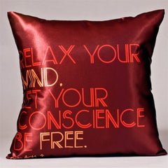Throw Pillow - Relax