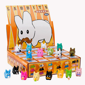 Kidrobot Sealed Case Happy Labbit Mini Series 1.5-Inch