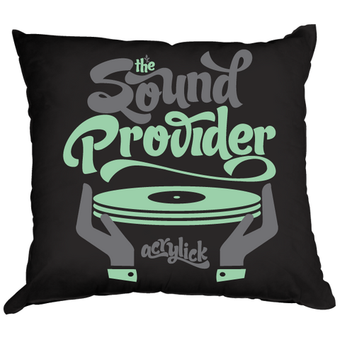 Throw Pillow - Sound Provider