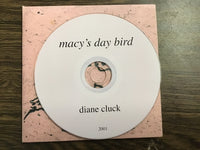 Diane Cluck - Macy's Day Bird & Black with Green Leaves (2) CD