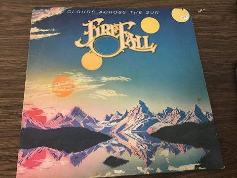 Firefall Clouds across the sun vinyl record as is