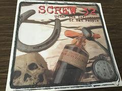 Screw 32 Under the Influence of Bad People Vinyl record as is