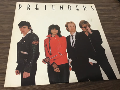 The Pretenders vinyl record as is