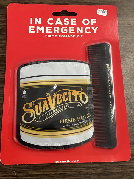 Suavecito - Emergency Firme Pomade Kit