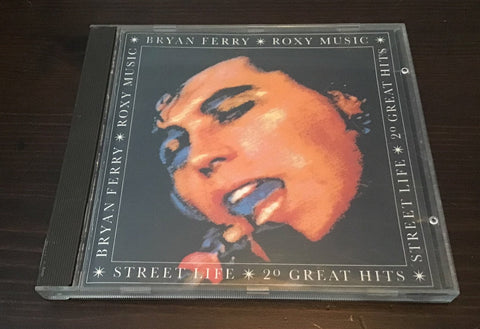 Bryan Ferry Roxy Music Street Life 20 Greatest Hits CD as is
