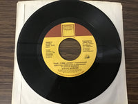 Stevie Wonder Part-Time Lover & Instrumental 45