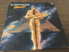 7th Wonder Thunder vinyl record as is