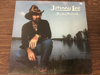 Johnny Lee Bet your Heart on me LP