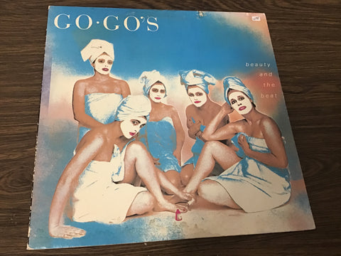 Go-go's Beauty and the beat vinyl record as is