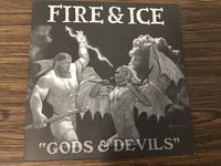 Fire & Ice Gods & Devils EP Blue Version 45