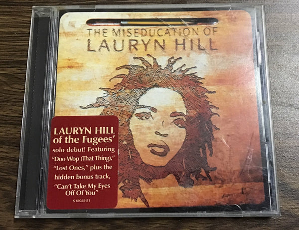 Lauryn Hill - The Miseducation of Lauryn Hill CD