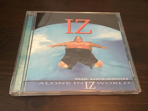 Israel Kamakawiwo'ole Alone in IZ world CD as is
