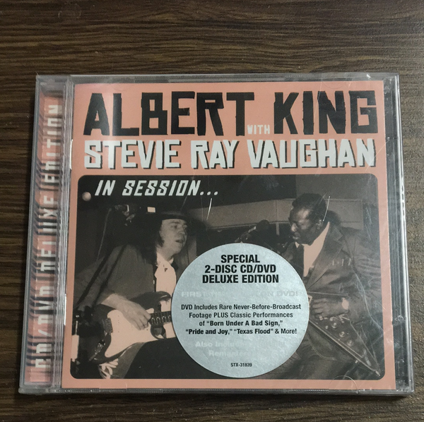 Albert King & Stevie Ray Vaughan In Session (2) CD