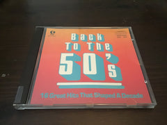 Back to the 50's Greatest Hits CD as is