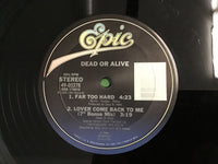 Dead or Alive Lover Come Back to Me 12""