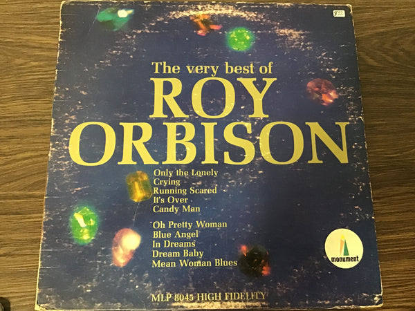 Roy Orbison The Very Best of LP