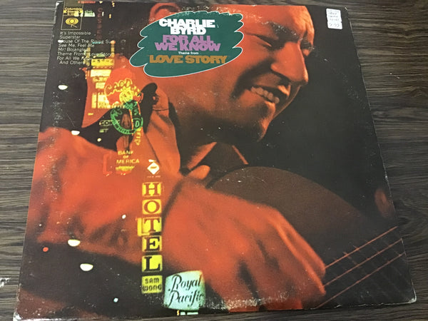 Charlie Byrd For all we know (2) LP
