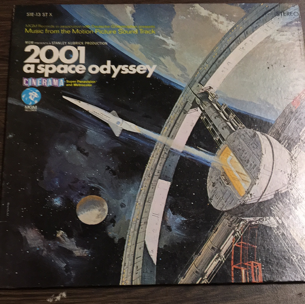 2001 Space Odyssey Soundtrack LP