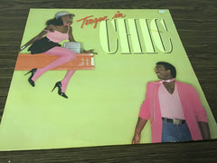 Chic Tongue in Chic vinyl record as is
