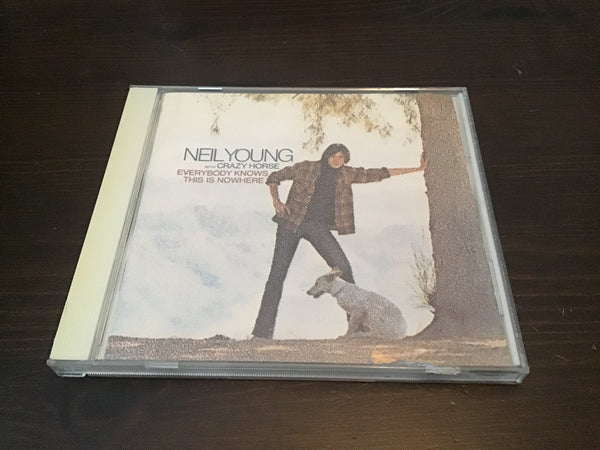 Neil Young Everyone knows this is nowhere CD