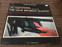 The Dave Brubeck Quartet countdown time in outer space LP