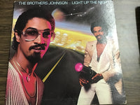 The Brothers Johnson - Light up the Night LP