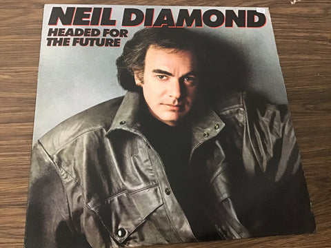 Neil Diamond Headed for the Future vinyl record as is