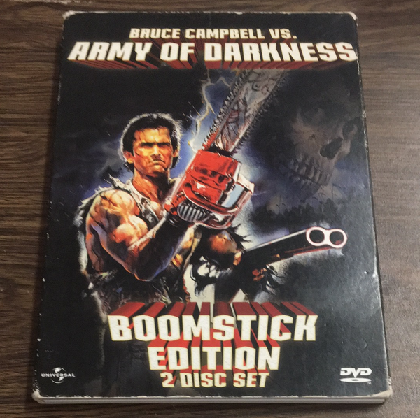 Army of Darkness Boomstick Edition DVD