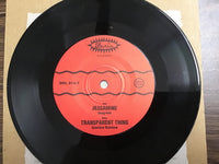 Jessamine & Transparent Thing Seagreen / Gasoline Rainbow 45