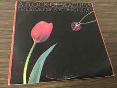 A Flock of seagulls The story of a young heart vinyl record as is