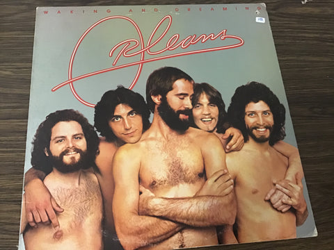 Orleans Waking and Dreaming vinyl record as is