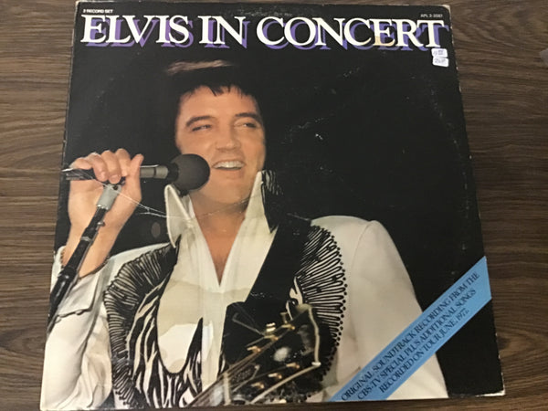 Elvis Presley Elvis in Concert (2) LP