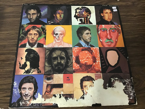 The Who Face Dances vinyl record as is