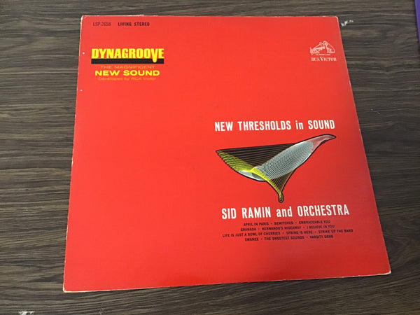 Sid Ramin New thresholds in Sound LP