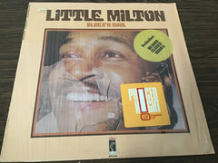 Little Milton Blues n Soul vinyl record as is