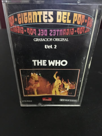 The Who - Gigantes Del Pop Cassette Tape