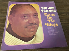 Big Joe Turner Turns on the blues vinyl record as is