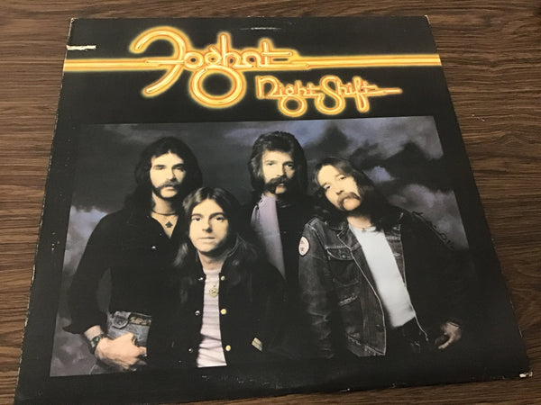 Foghat Night Shift LP