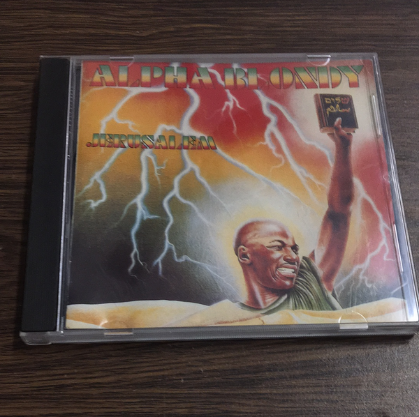 Alpha Blondy Jerusalem CD