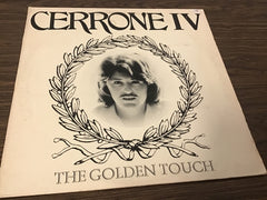 Cerrone IV The Golden Touch vinyl record as is