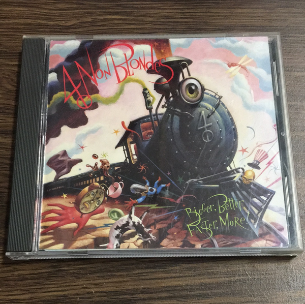 4 Non Blondes Bigger, Better, Faster, More! CD