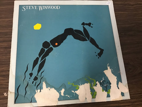 Steve Winwood Arc of a Diver vinyl record as is