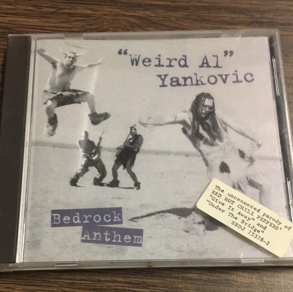 Weird Al Yankovic Bedrock Anthem CD
