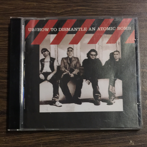 U2 How to Dismantle a Bomb CD
