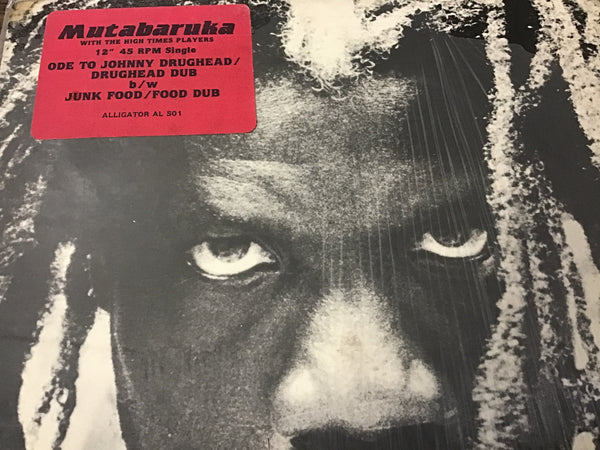 Mutabaruka Ode to Johnny Drughead / Junk Food 12""