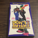 Don't be a Menace VHS