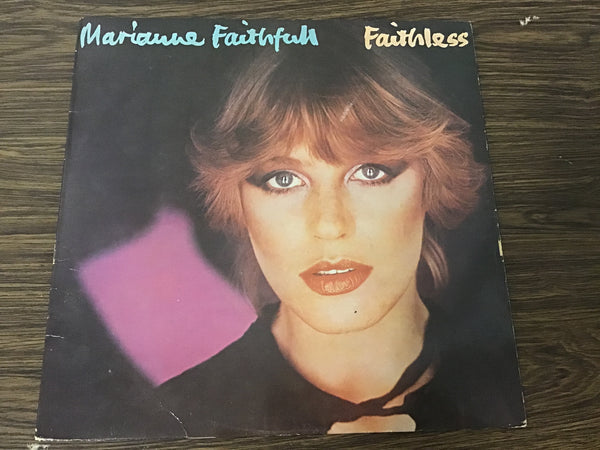 Marianne Faithful Faithless LP