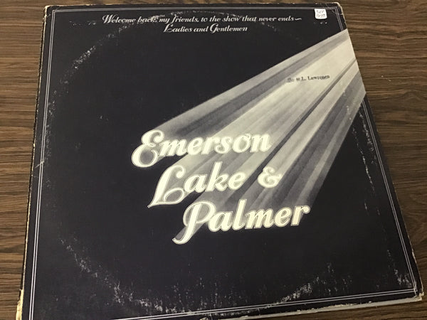 Emerson Lake and Palmer welcome back my friends (3) LP
