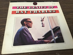 Ray Charles The Genius of Ray Charles vinyl record as is